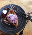 Symmetry Ice Cream Waffle