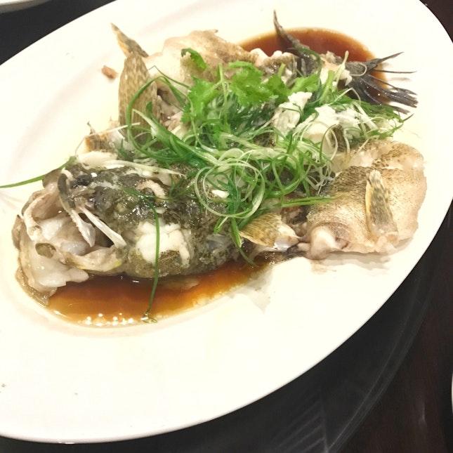港蒸筍殼魚 Hong Kong Style Steam Soon Hock