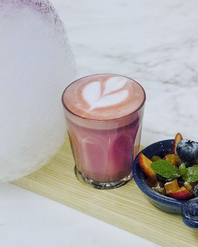 Beetroot Piccolo and Latte Duo $12.