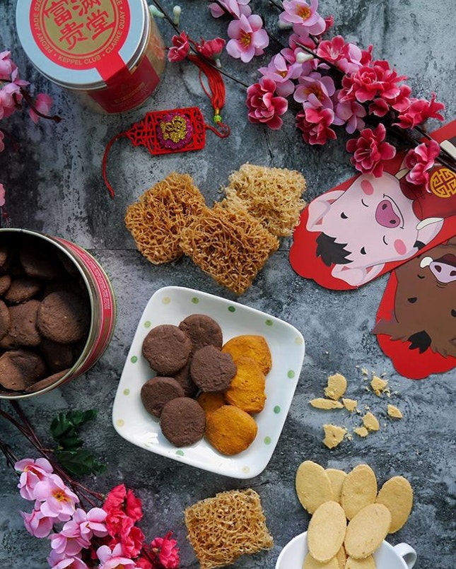 Ushering the lunar new year with more yummlicious snacks.
