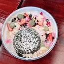 Berry Matcha Lava Cake ($15)