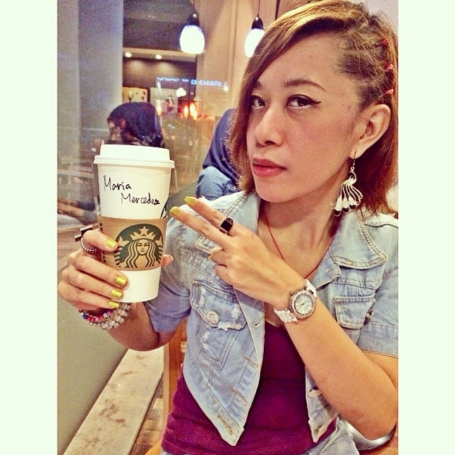 My fav coffee at starbucks but why my name changed?