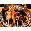 seaside freshness on a robata grill 🍢🍢🍢#secretlifeoffatbacks #hamanoya #japanese #seafood #robatayaki #sgfood