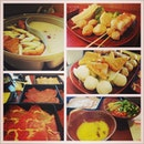 Our #steamboat #buffet #dinner before watching #movie @papillon24