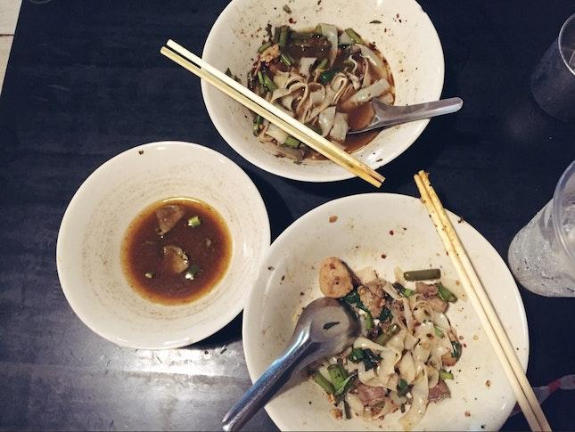 Thai Boat Noodles (soup+dry)