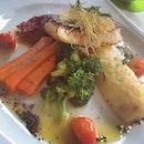 Cod fillet for lunchie #foodies #foodporn #foodoftheday #igaddict #instafood #instagood #instadaily #iphonesia