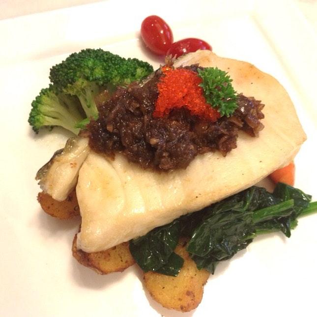 Seared Cod Fish