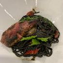 whole squid + ink pasta