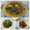 3 Aug 2014 - Delightful set dinner at Sakura Chinese Thai Restaurant : Tom Yum Soup, Prawn Paste Chicken and Sambal Kangkong!