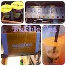 Finally tried woobbee's bubble tea!