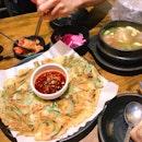 Beef Rib Soup & Squid And Leek Pancake
