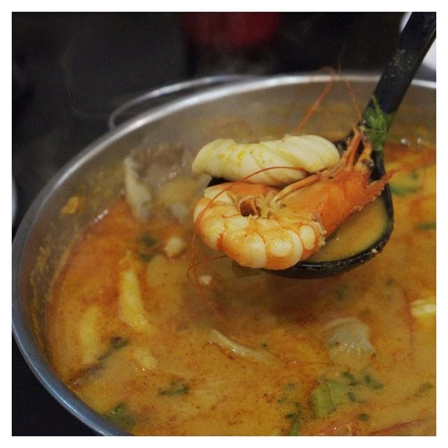 A must order every time you have Thai is Tom Yum Goong!