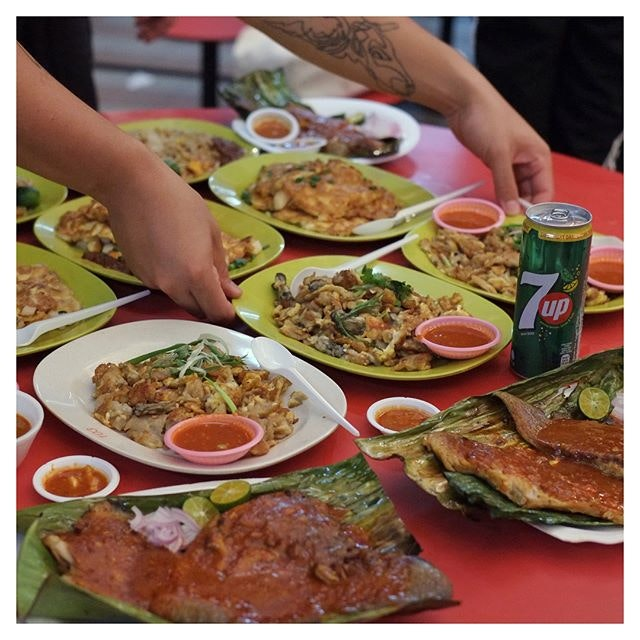Headed for a recent event by Burpple in collaboration with 7Up, where we tried out which local Hawker dish pairs best with 7Up!