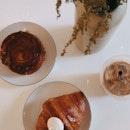 Lemon Meringue Croissant ($5) / Brown Sugar Kouign Amann ($4)