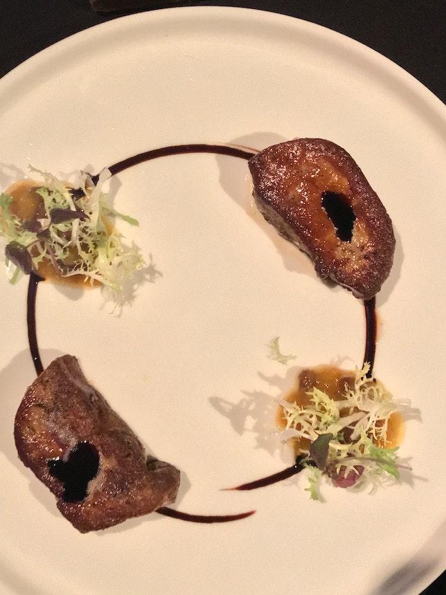 Pan Seared Foie Gras ($30)