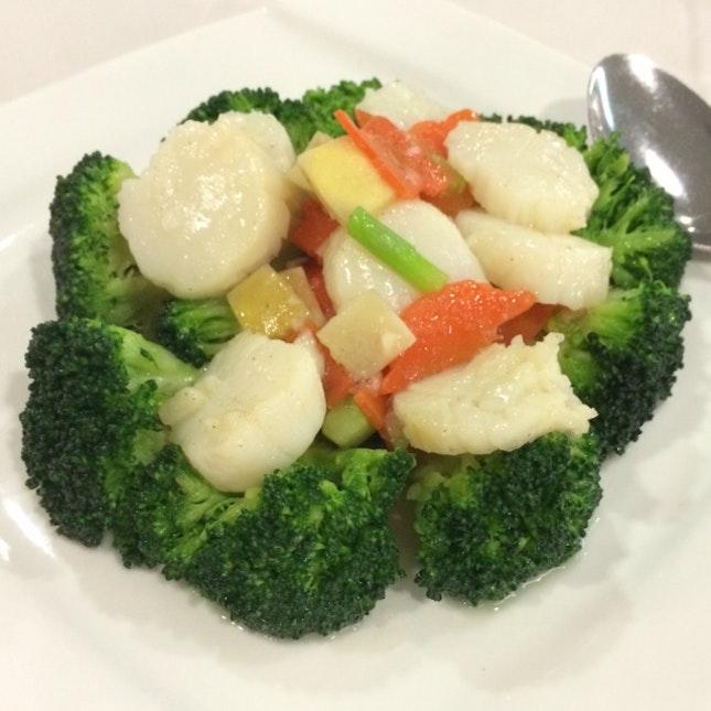 Scallop Broccoli