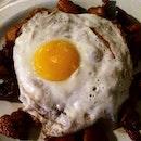 Egg With Mesh Potato