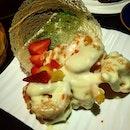 Salad Mayonnaise Prawns