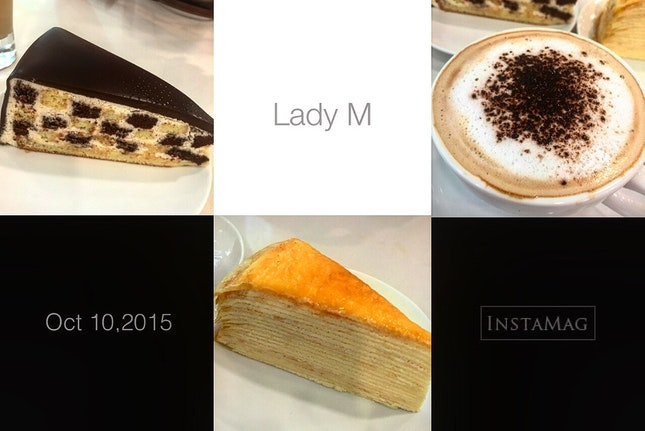 The Lady M Crepes Cake