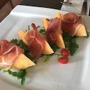 Rock Melon With Parma Ham