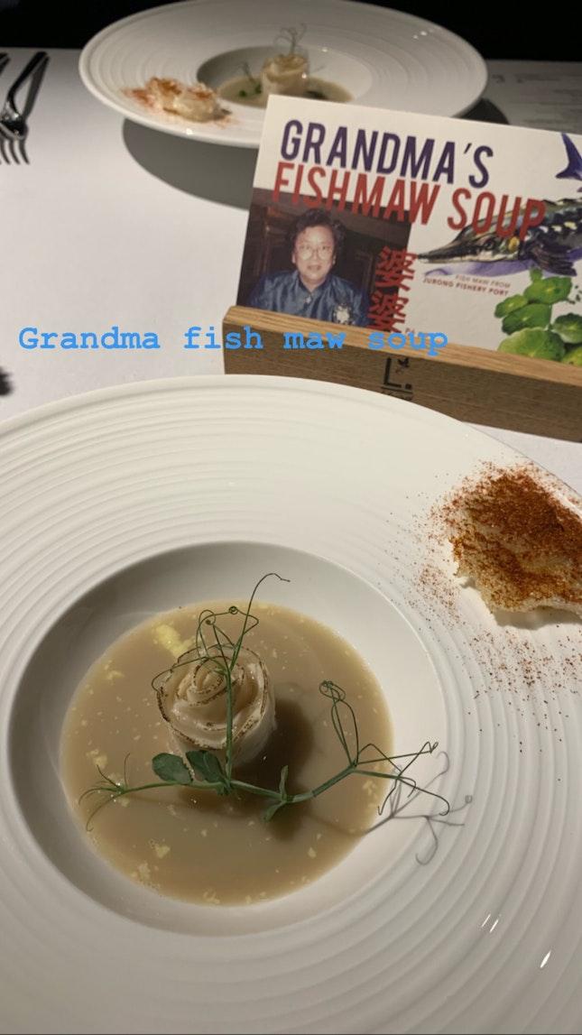 Grandma Fish Maw Soup