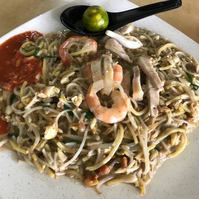 Xiao Di Fried Prawn Noodle 小弟炒虾面 - Singapore