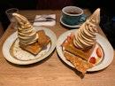 Earl Grey Lavender & Roasted Pistachio Waffle Ice Cream