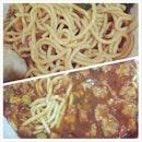 Special sauce noodles - $4.50.