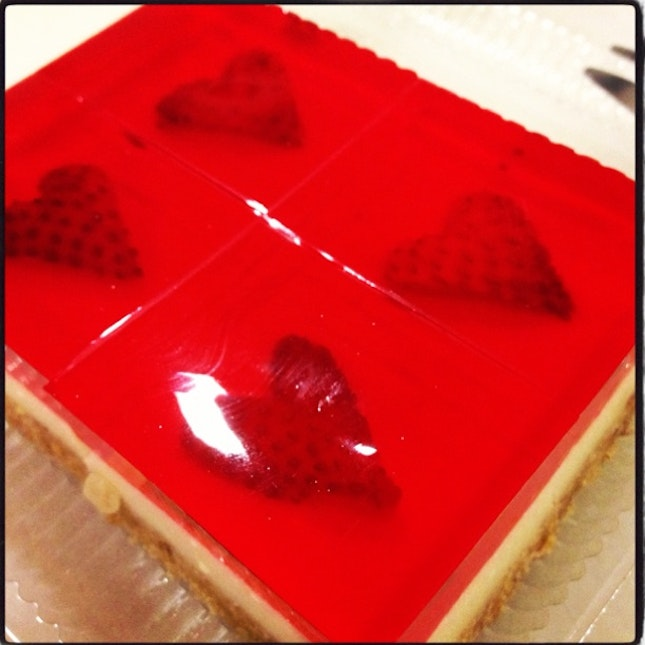 The best tiny jelly cheesecake one can buy