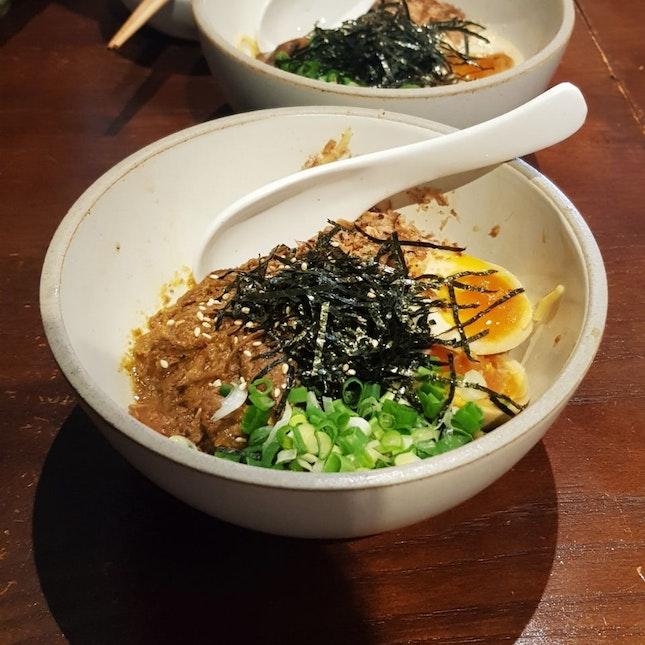 Braised Pork Egg Noodles ($6)