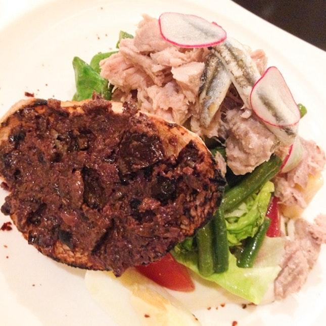 """Line-caught Tuna """"a la Niçoise"""""""
