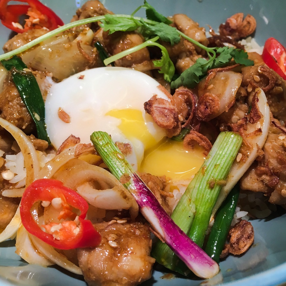 Lemongrass Chicken Rice