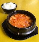 Sun Tou Fu Soup with Rice