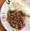 Thai Basil Minced Pork Rice