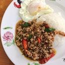 Thai Basil Minced Pork Rice