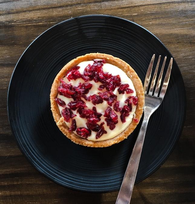 Cranberry Cheese Tart