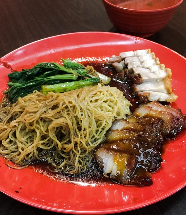 Char Siew & Roasted Meat Noodle