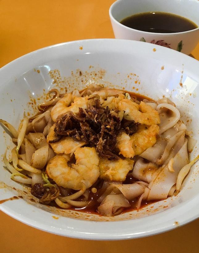 Prawn Noodles (Dry)
