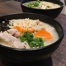 Poached Rice Bowl Soup