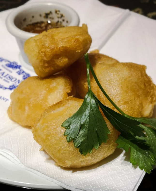 Camembert Cheese Fritters
