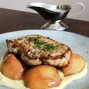 Pommery Pork Chop