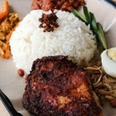 Nasi Lemak with Ayam Berempah (Thigh)