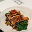 Unagi & Salmon Fried Kway Teow