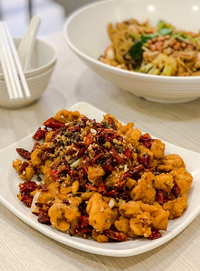 Spicy Diced Chili 山城辣子鸡