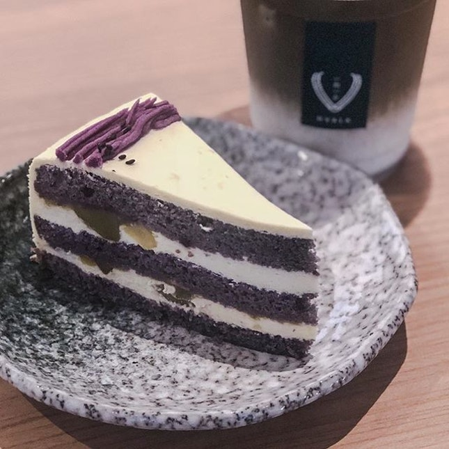 Featuring @hvala_sg newest cake on the menu!
