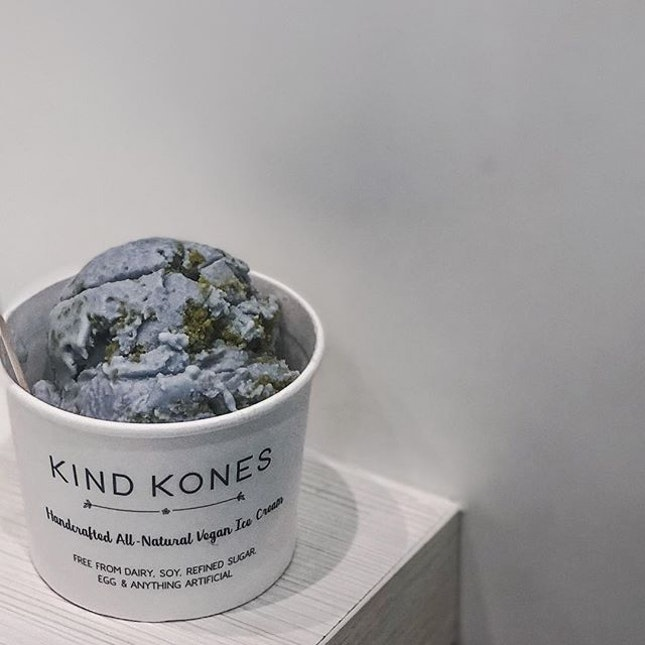Finally tried @kindkones_sg after virtually lusting over their ice creams on IG.