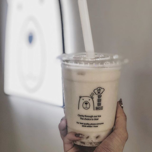 [NEW‼️] 🐻Good news to all vegans OR bubble-tea lovers🐻🌱 • Singapore very FIRST 100% plant-based bubble tea store @mcc_singapore has officially opened at Fortune Centre 🌱 Offering bubble tea with organic plant milk alternatives, such as organic oat milk and organic soy milk.