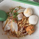 this could be the first time you're seeing a fishball noodles post from me.