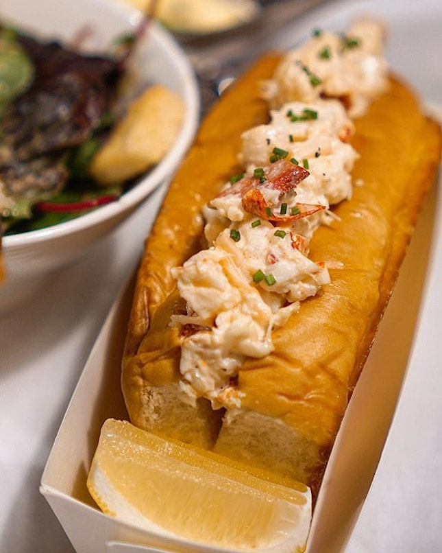 One of the best, if not the best, lobster roll ever ($58).