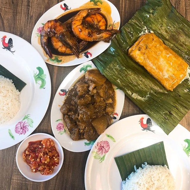 When you want a home cooked Peranakan meal, go to Rumah Baba Fred.